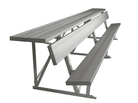 Pleasant Dugout Shelf Back Players Bench Ocoug Best Dining Table And Chair Ideas Images Ocougorg