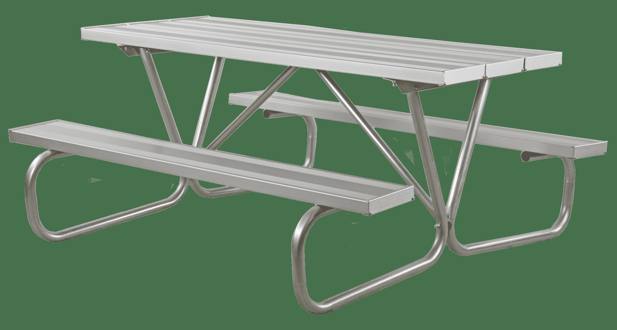 BG Series Bolted Frame Tables Aluminum