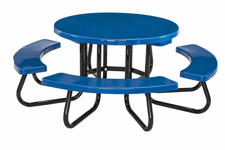 Attrayant 48 Inch Round Portable Tables Fiberglass