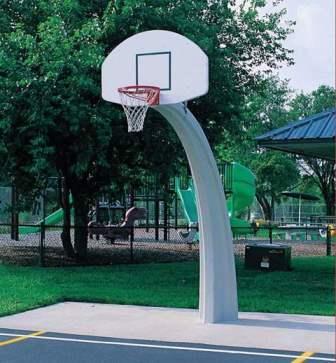 Basketball Hoop Tie Clip Sports Fan Tie Bar