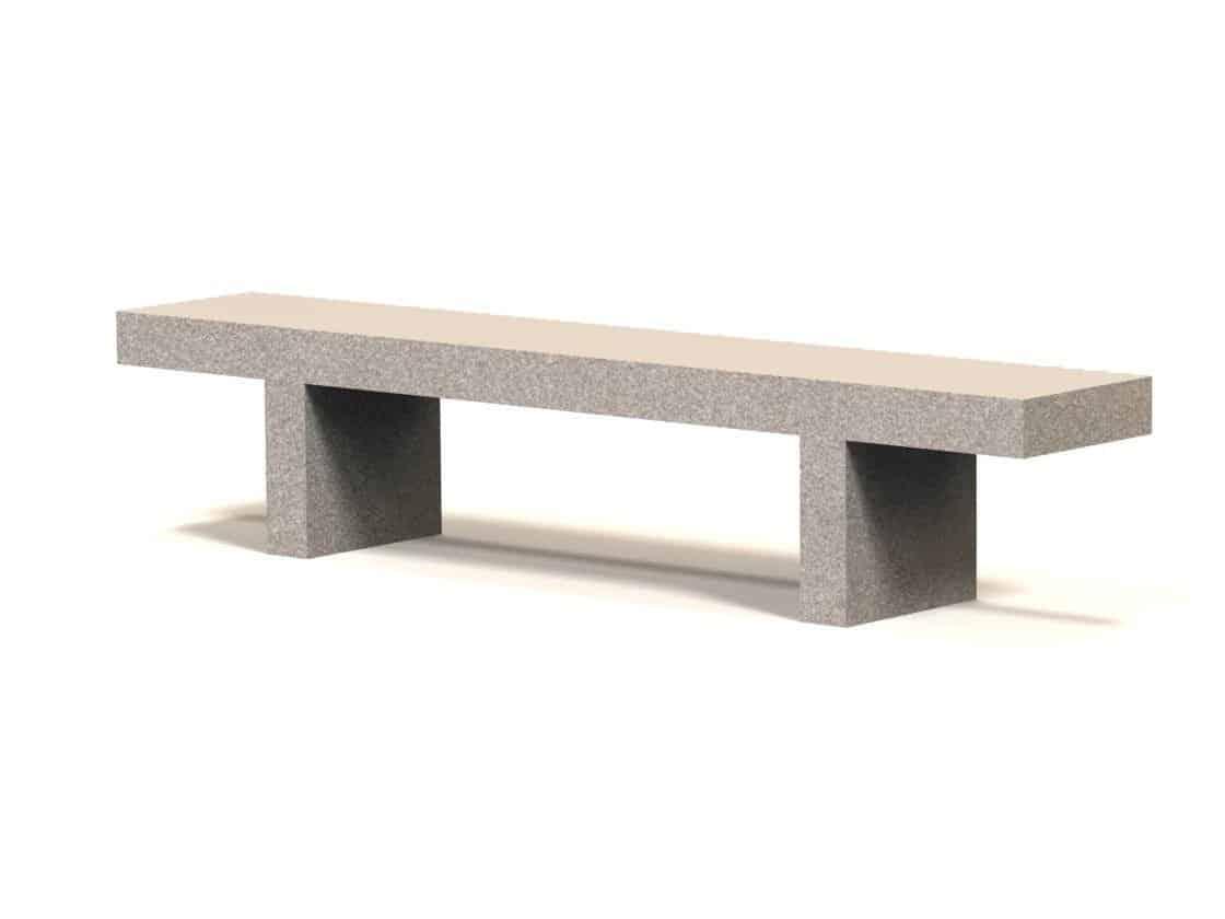 Stupendous 7 Concrete Commercial Backless Bench Evergreenethics Interior Chair Design Evergreenethicsorg