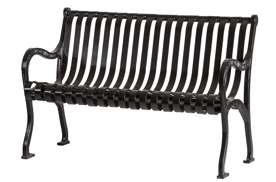 Pleasant Iron Valley Ductile Iron And Steel Bench Beatyapartments Chair Design Images Beatyapartmentscom