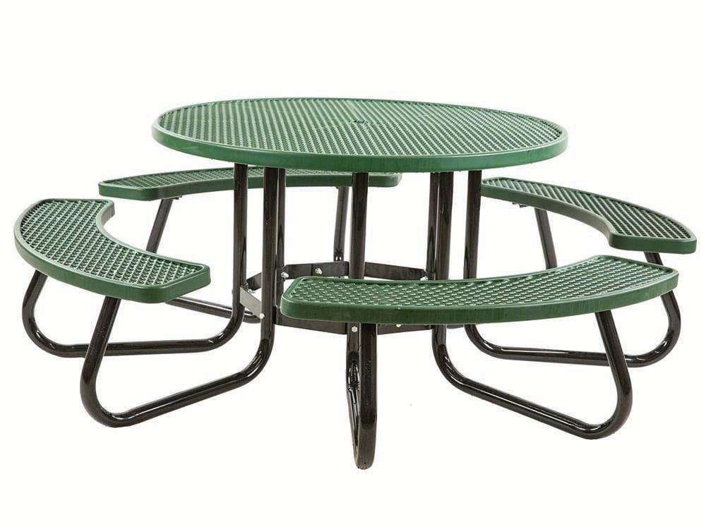 48 Inch Round Portable Tables Vinyl Plastisol Pvc