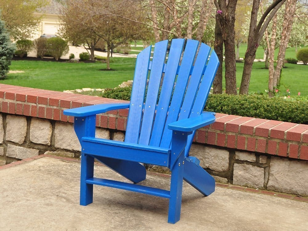 Recycled Plastic Adirondack Chair Commercial Grade Kay Park