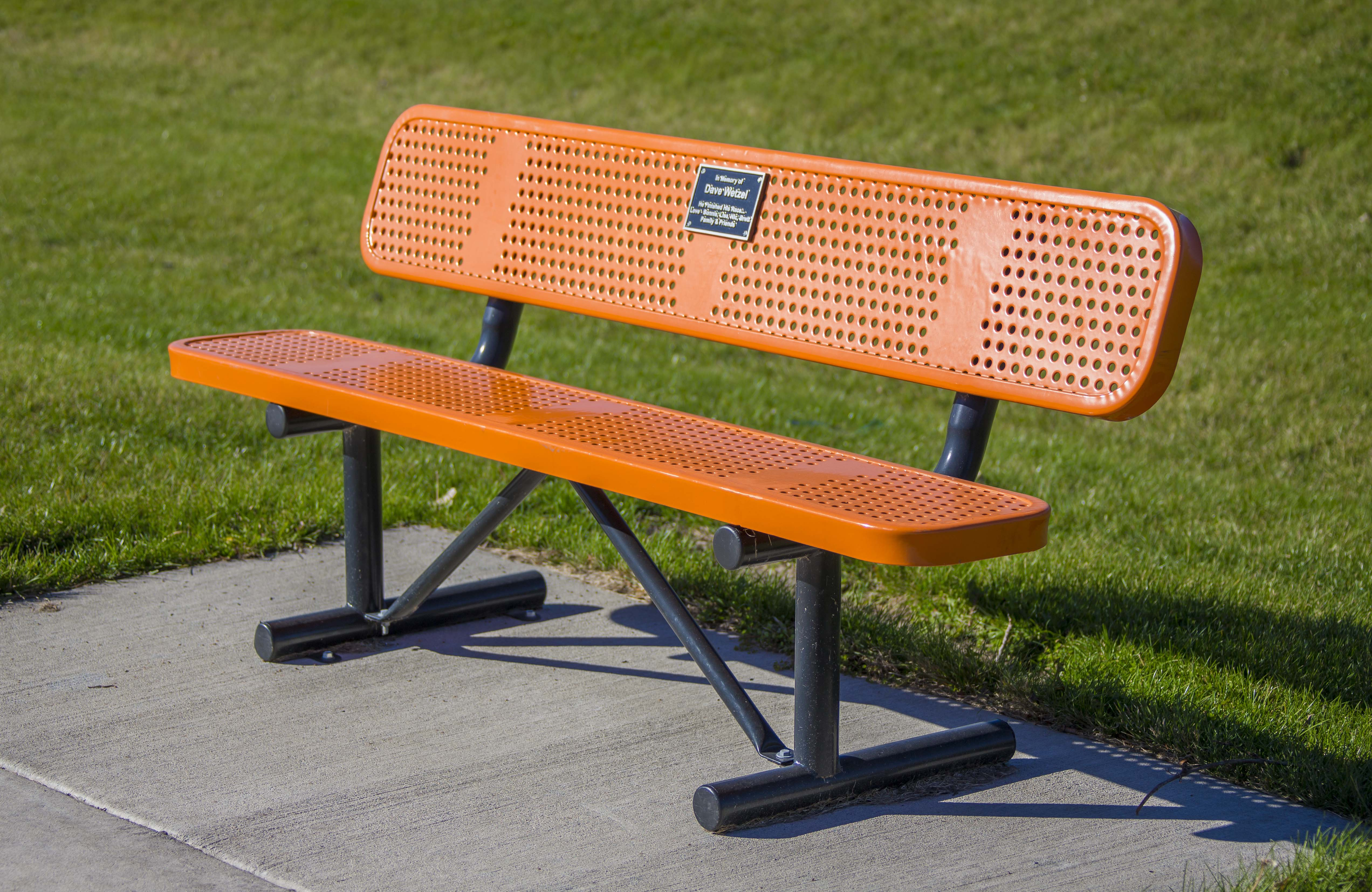 Prime Perforated Steel Park Bench Thermoplastic Coated Bralicious Painted Fabric Chair Ideas Braliciousco